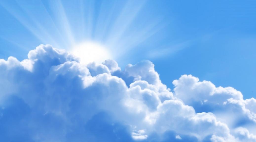 Op een andere wolk
